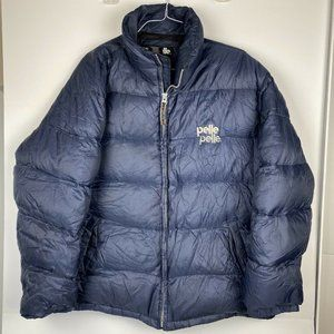 Pelle Pelle Men's Size XXL Blue Puffer Down Coat